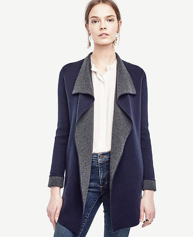 Image of Wool Cashmere Sweater Jacket