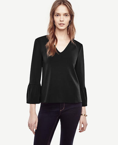 Image of Flare Sleeve Top