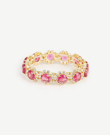 Image of Crystal Flora Stretch Bracelet