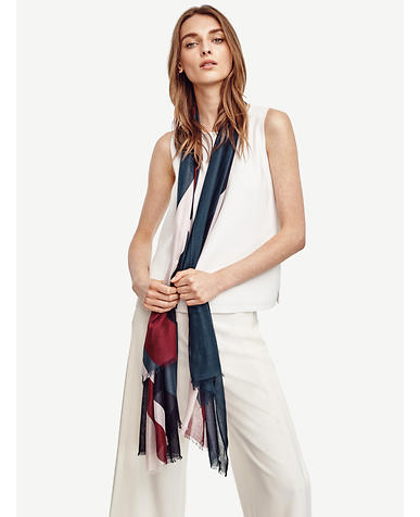 Image of Abstract Stripe Scarf