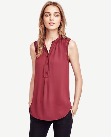 Image of Petite Sleeveless Blouse