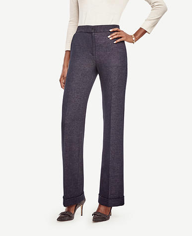 Image of Tweed High Waist Flare Pants