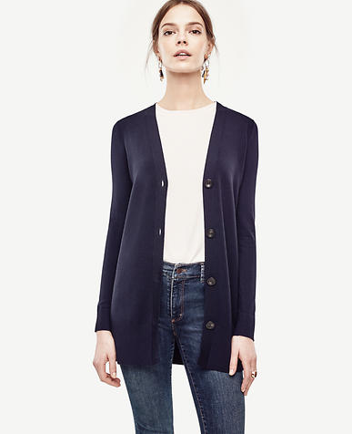 Image of Oversized V-Neck Cardigan
