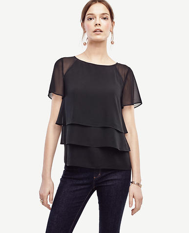 Image of Tiered Ruffle Tee