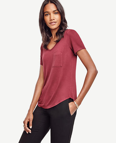 Image of V-Neck Pocket Tee