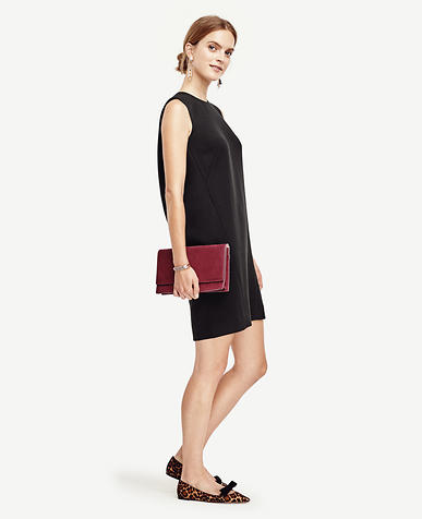 Image of Petite Sleeveless Shift Dress
