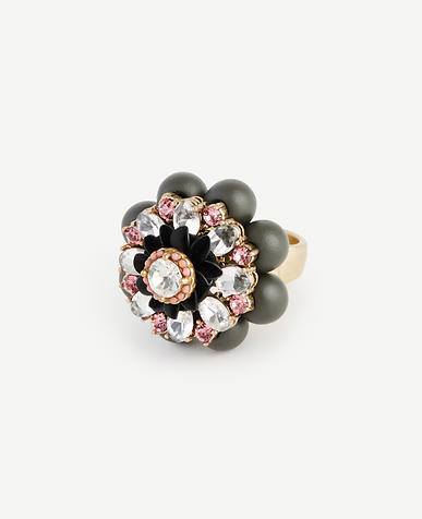 Image of Jeweled Flower Ring