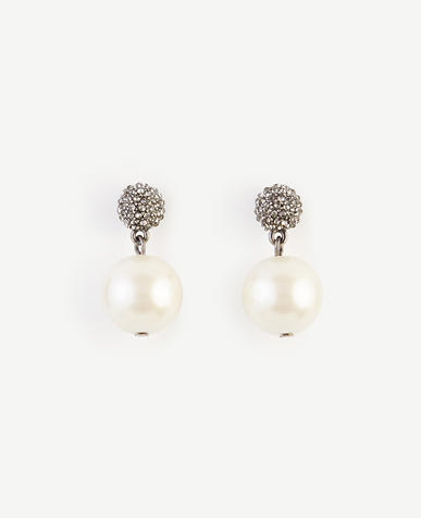 Image of Pearlized Drop Earrings