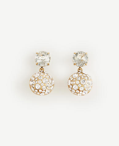 Image of Scattered Crystal Drop Earrings