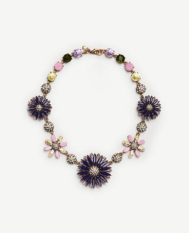 Image of Flower Statement Necklace