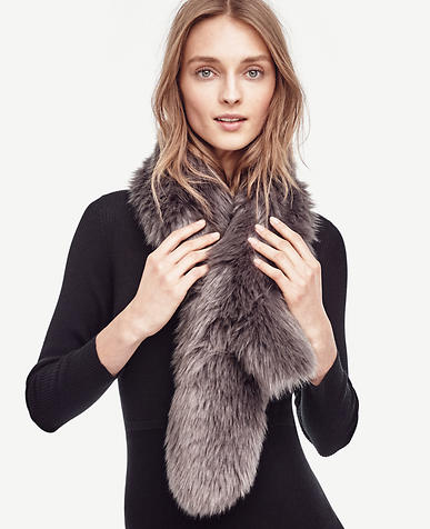Image of Faux Fur Stole