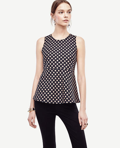 Image of Square Curved Hem Top