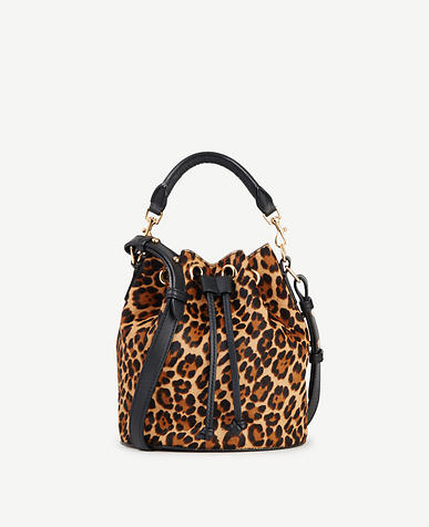 Image of Haircalf Mini Bucket Bag