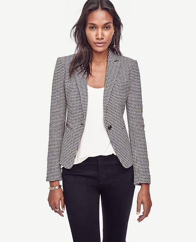 Image of Herringbone Blazer