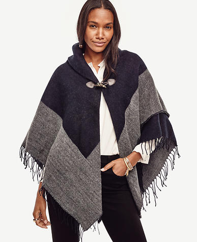 Image of Shawl Collar Cape