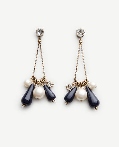 Image of Geometric Drop Earrings