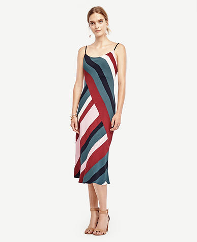 Image of Colorblock Slip Dress