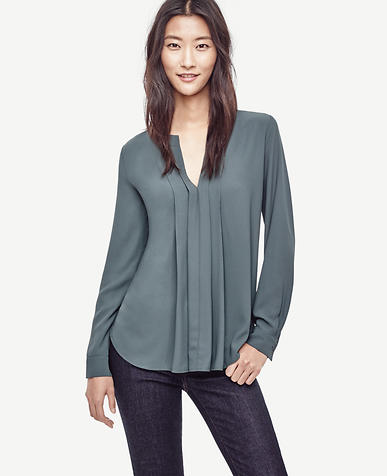 Image of Pleated Mixed Media Popover