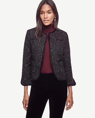 Image of Shimmer Tweed Jacket
