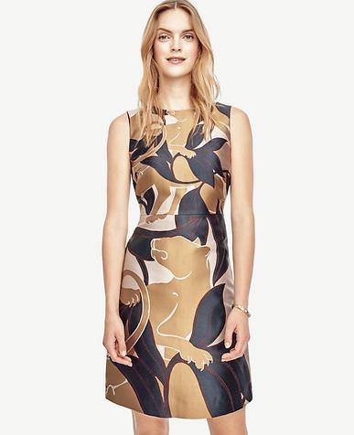 Image of Jungle Cat Flare Dress