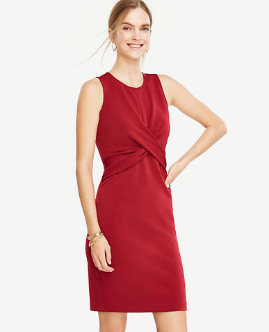 Image of Twist Sheath Dress