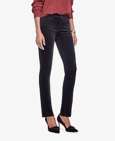 Image of Modern Skinny Velvet Jeans