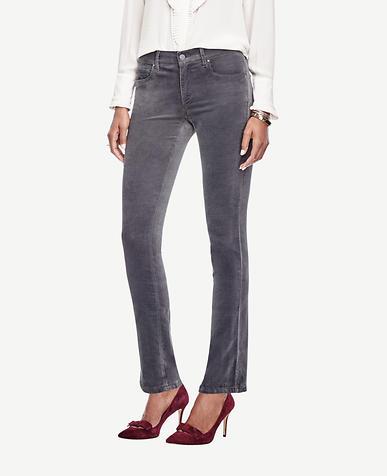 Image of Petite Modern Skinny Velvet Jeans