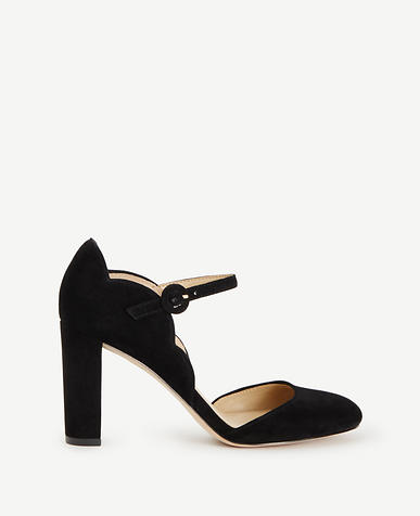 Image of Alissa Suede Mary Jane Pumps