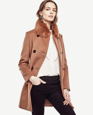 Image of Tall Luxe Collar Coat