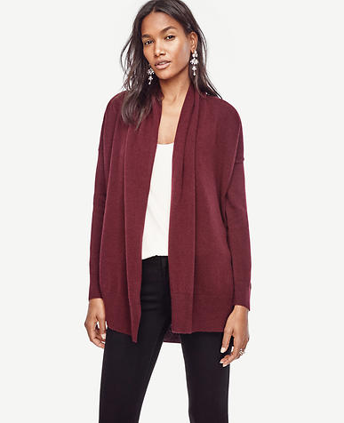 Image of Cashmere Open Cardigan