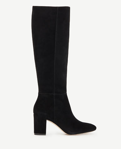 Image of Florence Suede Heeled Boots