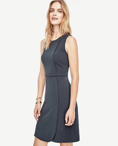 Image of Tall Faux Wrap Dress