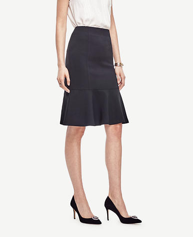 Image of Fluted Midi Skirt