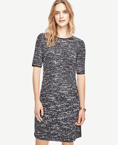 Image of Textured Knit Dress