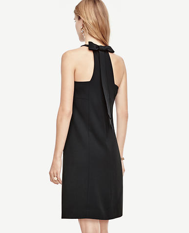 Image of Petite Bow Back Shift Dress