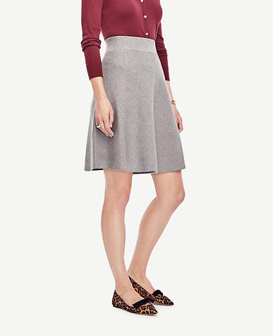 Image of Tall Solid Sweater Skirt