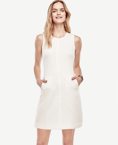 Image of Wool Sleeveless Sweater Dress