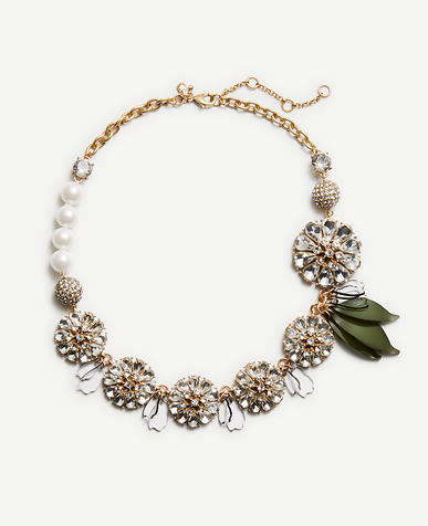 Image of Crystal Petal Necklace