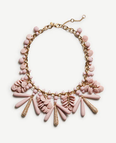 Image of Disc Charm Statement Necklace