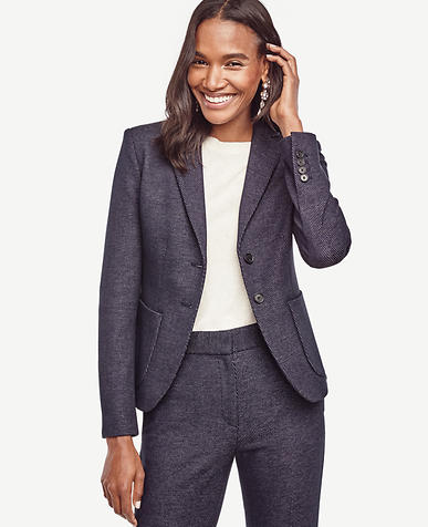 Image of Petite Tweed Pocket Jacket