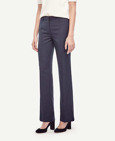 Image of Ann Pinstripe Trousers