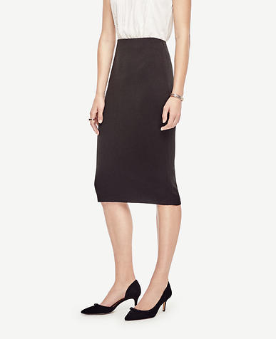 Image of Petite Sweater Pencil Skirt