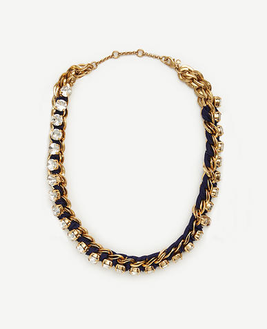 Image of Jeweled Rope Chain Necklace