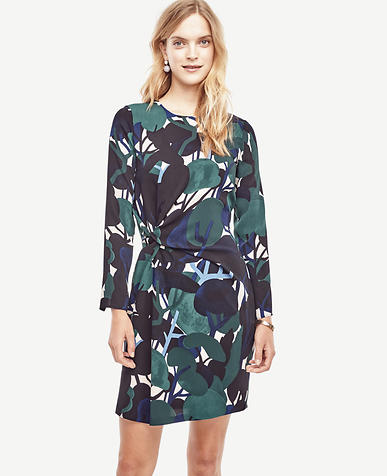 Image of Petite Cypress Botanical Shift Dress