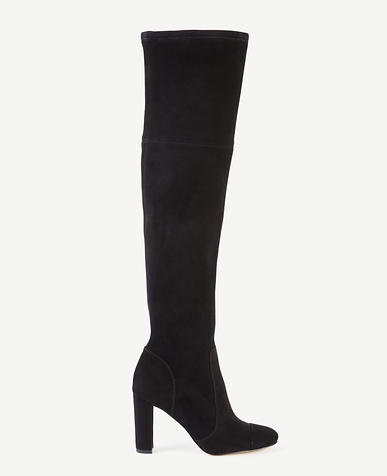 Image of Anna Marie Heeled Suede Boots