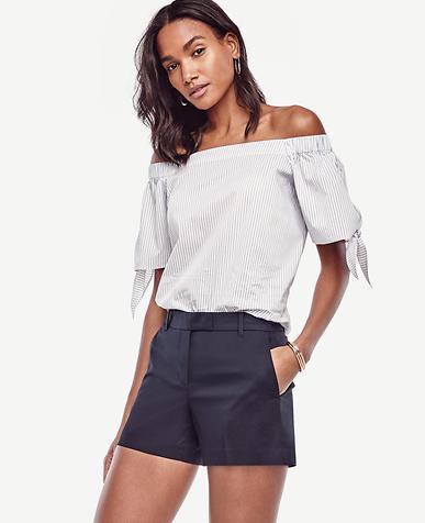 Image of Petite Cotton City Shorts