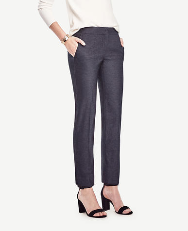 Image of Petite Devin Denim Everyday Ankle Pants