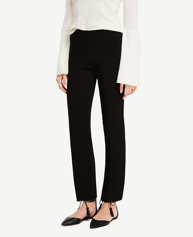 Image of Triacetate Slim Ankle Pants