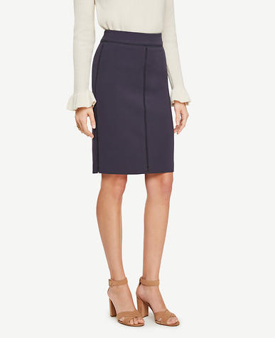 Image of Stitched Pencil Skirt