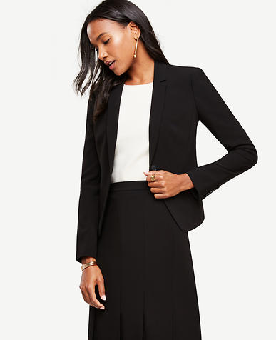 Image of Tall Triacetate One Button Jacket